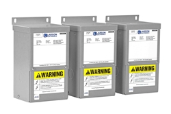 3-Phase Buck/Boost Step-Up Transformer - 208Y/120 Wye-N Primary- 229Y/132 Wye-N Secondary- 8.33 Amps