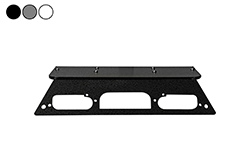 Magnetic Antenna Mounting Plate - 2019 Ford Superduty F250 Aluminum Trucks w/ LED 3rd Brake Lights -