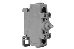 دکمه تماس با 20A برای دکمه فشار محل قارچ - C1D2 - 690V AC، 50 / 60 هرتز