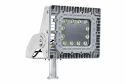150W Explosion Proof Sanitary LED Light - 304 Stainless Steel Mounting - Sealing Clamp -  IP67/N4X