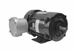 0.75 HP plahvatuskindel mootor - klass I, II - 460V 3PH 50 / 60Hz, 1.4 FLA - 1800 RPM-C