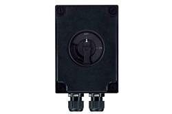 Guhertina Daxuyaniya Ne-Fuse - Switch Isolator - Three Pole - 100A - 415V Rated - (1) Têkiliya Destpêkê Destpêkek vekirî