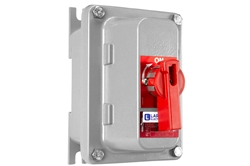 15A Explosion Proof Disconnect Switch - Class I, II, III - 600V Rated, 3-pole - Handle Switch