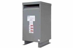 25 kVA 1PH DOE efektiivsusmuundur, 230 / 460V esmane, 115 / 230V sekundaarne, NEMA 3R, ventileeritud, 60 Hz