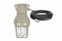 Explosion Proof LED Strobe Light - 120-277 Volts AC - Class 1 Div. 1 - CSA Listed - EXP Cord Cap