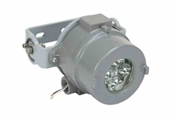 12W Explosion Proof Surface Mount Infrared LED Light - C1D1-2 - C2D1-2 - Aluminum Frame - 120/240V AC - 25' Line-In Cord