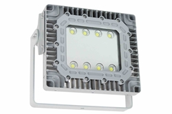 100W Explosion Proof LED Flood Light - Class I, Div 1 -347/480V - 14,000 lms -  Surface Mount