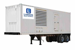 1 Megawatt Container Trailer Mount Diesel Generator – 480V or 240D/120CT 3PH – 1,250 Gal Fuel Capacity