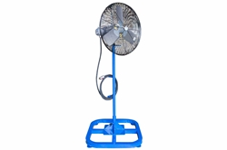 "24"" Electric Explosion Proof Fan on Stand - C1D1 - 7980 CFM - 24 inch - Pedestal Mount - 6' Cord"