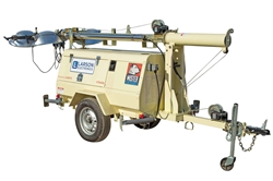 *RENT* 6000W Generator - Water Cooled Diesel Engine - 30' Telescoping Tower - (4) MH Fixtures - Mining Grade