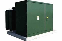 * RECONDITIONED * Transformador de montagem em bloco 1000 kVA - 7960V Delta Primary - 480V Delta - NEMA 3R
