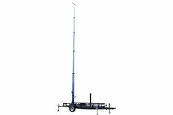 * RENT * 50 jala teleskoop Megatower® - 15-50 'pööratakse üle viie astme valguse torn - 16' treiler - pöörab 360 °