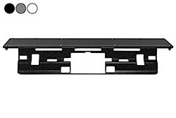 Nenhuma placa de montagem magnética da broca, se encaixa 2020 GMC Sierra 2500 com Spoiler, permanente