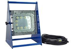 100 Watt Class 1 Div 1 انفجار اثبات نور چراغ - پایه آلومینیوم بدون جرقه - 120-277V AC - بند ناف 150