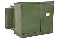 1000 kVA Transformador de Tampão - 13200V Delta Primário - 480Y / 277 Tonalidade Secundária - NEMA 3R