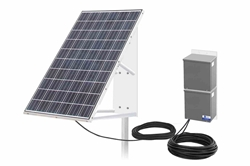 265W Pole Mounted Solar Panel - 3 Day Run Time @ 20W - 150' 8/2 SOOW - 250AH @ 24V Batteries