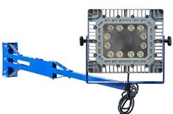 100 Watt-plahvatuskindel C1D1 LED-lüliti tera doki valgus - 6 'pöörlev alumiiniumvarras - 10,000-lumeenid