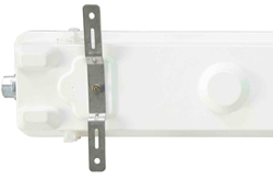 Replacement Aluminum Surface Mounting Bracket for HALP 2 FT Fixtures - Single Mounting Bracket