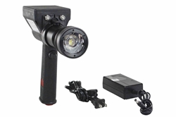 10W LED Light - Rechargeable L-ion - Pistol Style - 800 Lumens - 1500' X 100' Beam - 4° Spot Optic