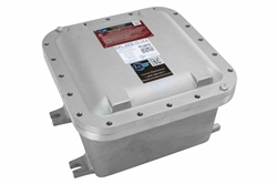 "Explosion Proof Enclosure - 24""x24""x10"" Internal Dims - Surface Mount, Backplate - (3) 2"" NPT Hubs"