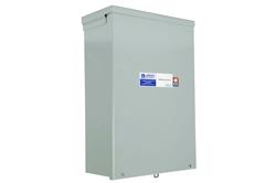 Transformateur CC à CC 0.125 KVA - 24 V CC à 12 V CC - 25 A, refroidi par ventilateur - N3R
