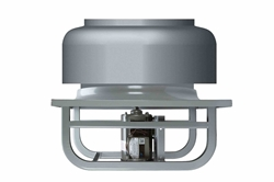 "12"" Explosion Proof Exhaust Fan - 1200 CFM - 1/2HP, 480V 3PH - Roof Mount"