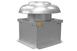 "18"" Explosion Proof Exhaust Fan - 3990 CFM - 1/2HP, 480V AC 3PH - Roof Mount"