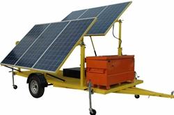 Sistema de segurança com energia solar de 4.8KW - (20) painéis de 240W -11kW de geração a diesel - inversor de 120 / 240V