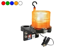 1W Solar Powered 24/7 LED Strobe Light - Marine Applications - Weatherproof - Bar Clamp Mount