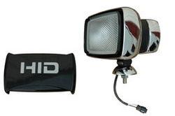 Luz de Equipamento 35 Watt HID - 3200 Lumens - Lente 5X7 - Lastro Interno - 275'L X 240'W Barreira de Inundação
