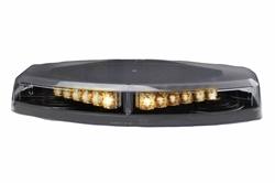 46W Mini Strobing LED valgusriba - 24 Amber LED-id - 23 välgumustrid - klassi 1 Beacon - alaline kinnitus