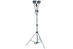 Portebla LED Teleskopa Lumo Turo etendas 3.5 'al 10' - 24 vattoj - Adjustable - 1440 Lumens - 9-4
