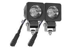 Luz LED - 20 vatios - 2 X 10 vatios - 1600 lúmenes - montante - 9-48V