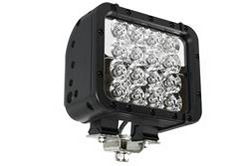LED light emitter  - 16 LEDs - 48 Watts - 9-42 VDC - 700'L x 80'W Beam - Extreme Environment