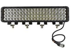LED Emitter - 80 LEDs - 20 x 4 LED Array - 14,400 Lumen - 1750'L x 300'W Beam - Extreme Environment