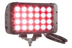LED valgusdiood - 24 LEDid - punane valgustus - 72 Watts - 4230 lumeenid - 575'L X 70'W kohtvalgusti