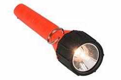 چراغ قوه هالوژن ضد انفجار - باطری 2 AA باطری - کلاس I، Div. من - غرق به 100 '