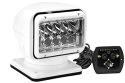 35 Watt HID Golight Stryker Spotlight - 3000 Lumen - 5000' Spot Beam - Wired Dash Remote - White