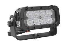 Infrapuna-LED-valgusdiood valgusallikaga seinakinnitusele - 8, 3-Watt LEDid - 850 või 940nm