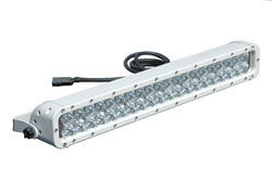 Infrared LED Light Bar w/ Trunnion U-Bracket Mount - 40, 3-Watt LEDs  - 850 or 940NM - 9-42VDC