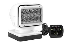 35 Watt Magnetic HID Golight Stryker - 5000' Beam - 3000 Lumen - 12 Volt - Hard Wired Dash Remote