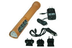 Class I, Div. I & II Rechargeable LED Flashlight - Spot&Flood Combo - 18hr. Runtime - 220VAC Charger