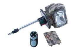 Camouflage Golight Radioray w/ Stanchion Boat Mount - Wireless Remote Control - Nautical Lights