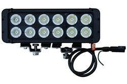 120 Watt suure intensiivsusega LED valgusriba - 12, 10-Watt LEDid - 10320 Lumen - äärmuslik keskkond