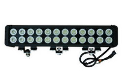 High Intensity LED Light Bar - 24, 10-Watt LEDs - Extreme Environment - 9-46VDC - 20640 Lumen