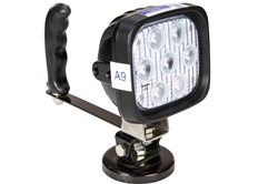 Hand Magnetic LED Spotlight 3600 Lumen 9-32VDC 40 Watts 4 LEDs Adjustable Tilting Base