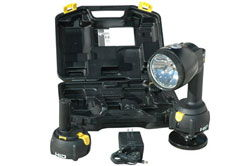 Rechargeable HID Spotlight - 200lb. Grip Magnetic Base - 4000' Beam - Flood/Spot Combo - 35 Watts