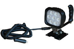 Permanent Mount Control Light - Rotates and Pivots - 7, 3-Watt CREE LEDs
