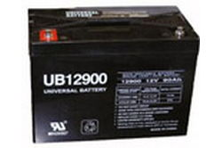 UB-12900 Sealed Lead Acid Rechargeable Battery - AGM (Absorbent Glass Mat Technology)