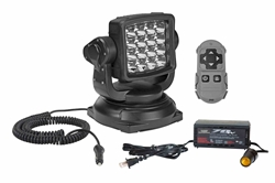 GL - Golight RadioRay Portable Remote Control Spotlights - Ready for 110VAC - 12V to 110V Converter
